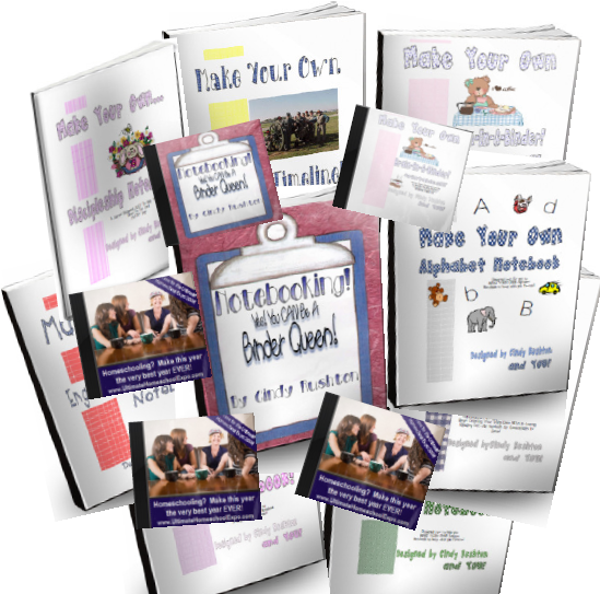 Everything You Need To Begin Notebooking E-Book Set - Order with a Friend!