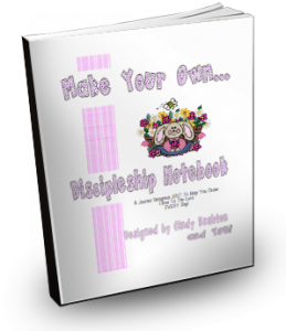 Make Your Own Discipleship Notebook