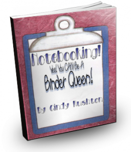 Notebooking! YES! You CAN Be A Binder Queen Too! eBook