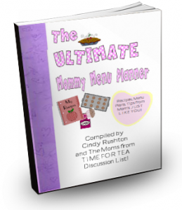 Ultimate Mommy Menu Planner
