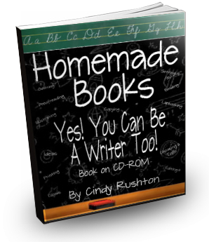 Homemade Books! Yes! YOU Can be a Writer Too!